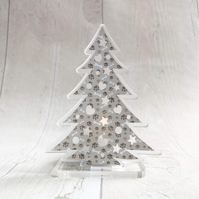 Christmas tree LED tealight holder