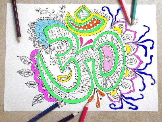 Mandala Kleurplaten Boek.Om Volwassene Pagina Mandala Kleurplaten Boek Zen Meditatie Kunst Therapie Mantra Lasoffittadiste Instant Download Afdrukbare Kleuren