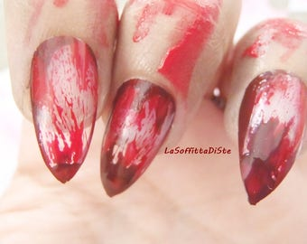 horror bloody nails witch vampire zombie blood