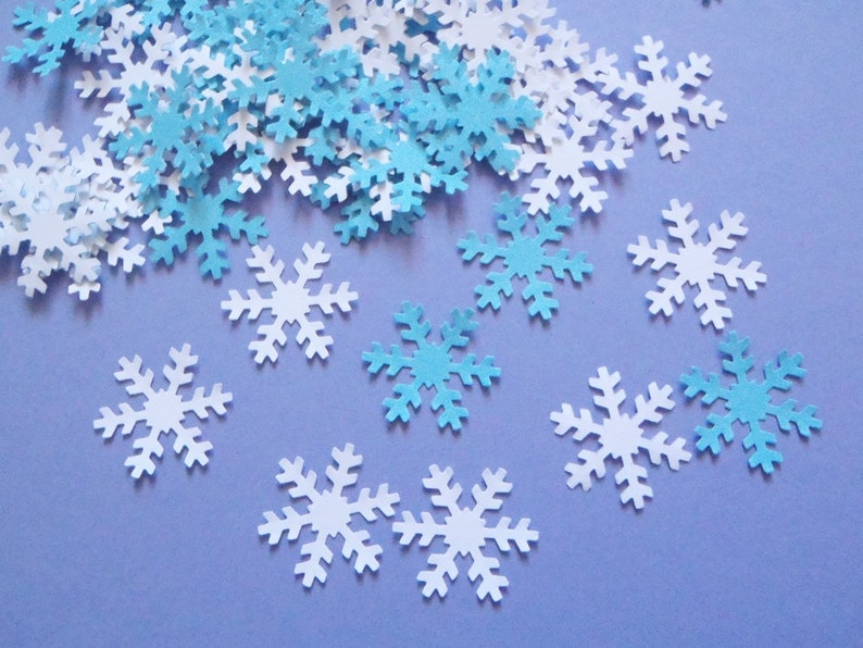 snowflake table decorations.htm snowflakes confetti winter wedding christmas ice party favor etsy  snowflakes confetti winter wedding