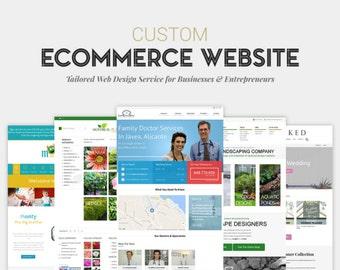 Custom eCommerce Website Design | Fully Responsive & Modern E-Commerce Website Design for WordPress
