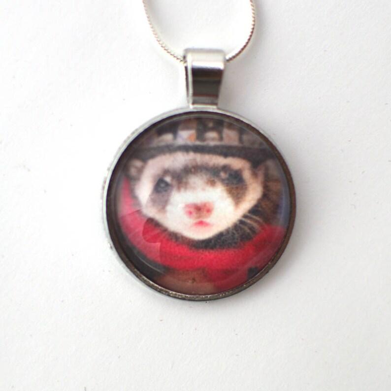 Round Pet Photo Pendant