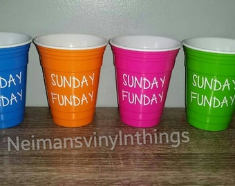 e2592394028 Sunday funday cups