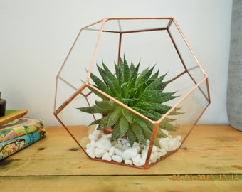 Copper Terrarium Etsy