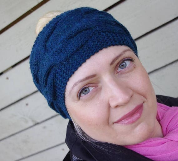 Zopfmuster Haarband Stirnband stricken Ohrwärmer Frau   Etsy