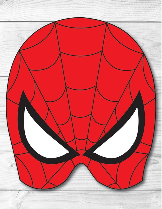 photo relating to Spiderman Mask Printable named Spiderman Do it yourself Encounter Mask, Fast Obtain, Paper Printable