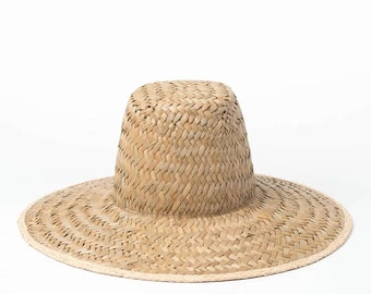 27c0cb7a01f Big eaves papyrus hat sun shade beach straw hat