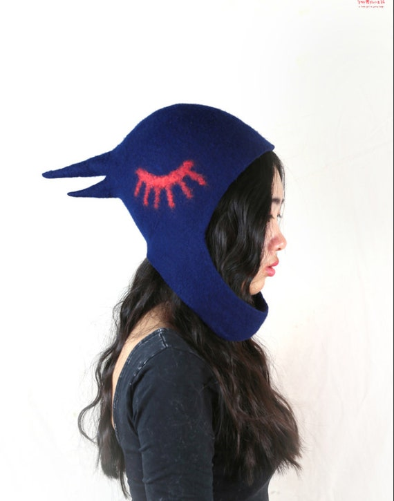 Made to Order Nightingale Hood Knit Hat
