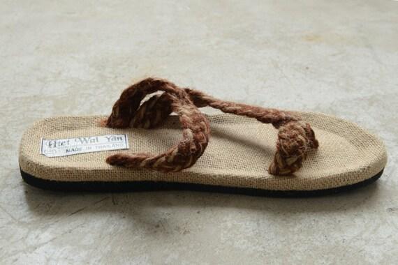Men's slippers Summer men's slippers Men sandals Straw sandals sandals Summer sandals