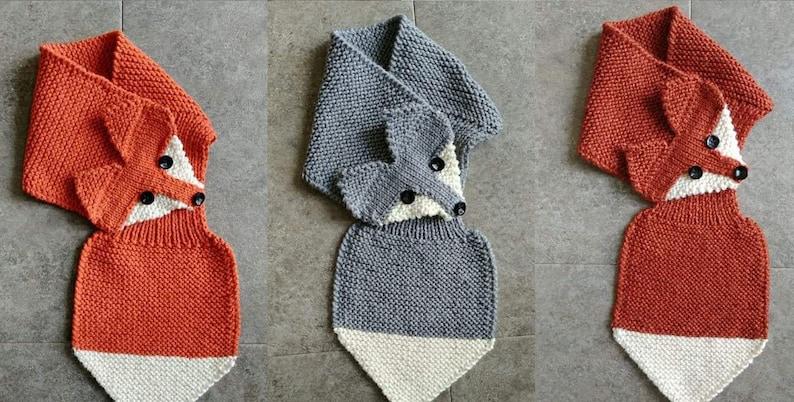 PDF Knitting Pattern of Fox Stole