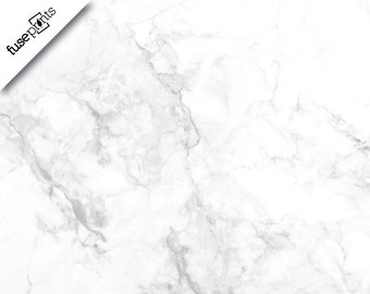 WHITE and GREY MARBLE Vinyl Backdrop - Gray Marble Backdrop - Gray Granite Vinyl Backdrop- Blogger Backdrop - Food Flatlay - Faux Countertop