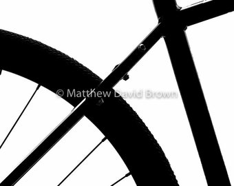 Bike Form, Industrial, Composition, Photograph,