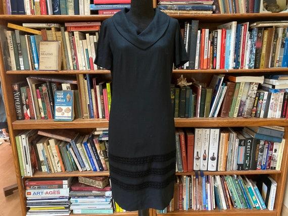 1960s Leslie Fay Linen Dress