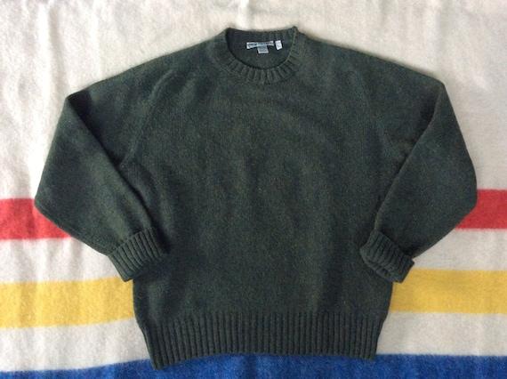 1980s LL BEAN Lambswool Irish Sweater