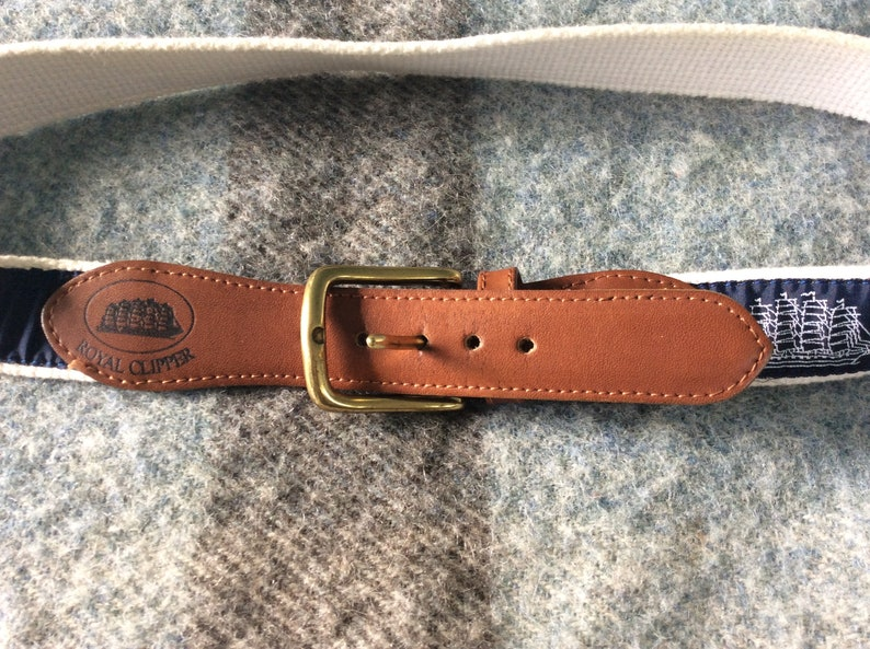 32 1990s Royal Clipper Ribbon Belt
