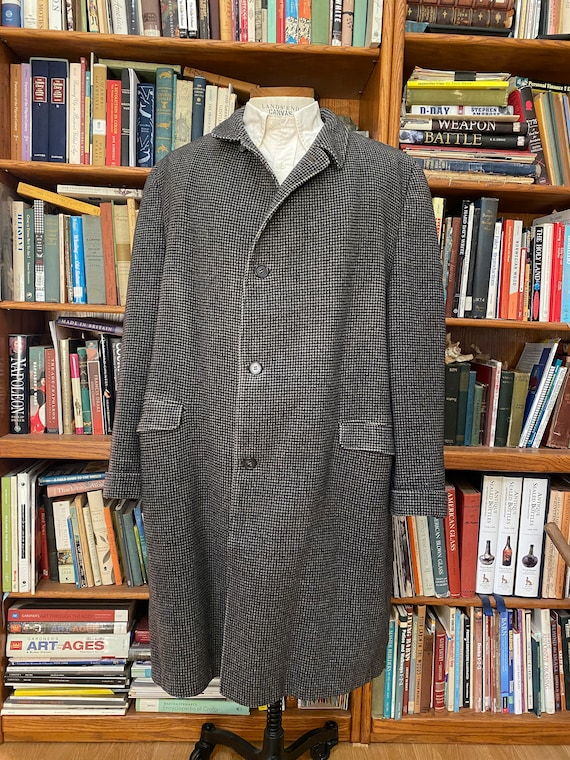 1950s Wool/Cashmere Overcoat - XL
