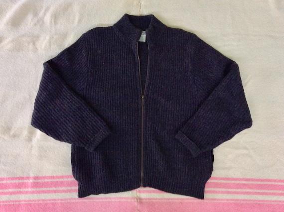 1990s L.L. Bean Zip Sweater