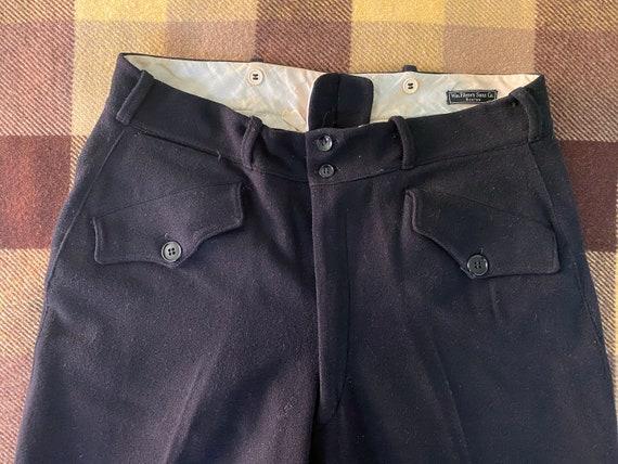 1920's Filene's Formal Wool Trousers