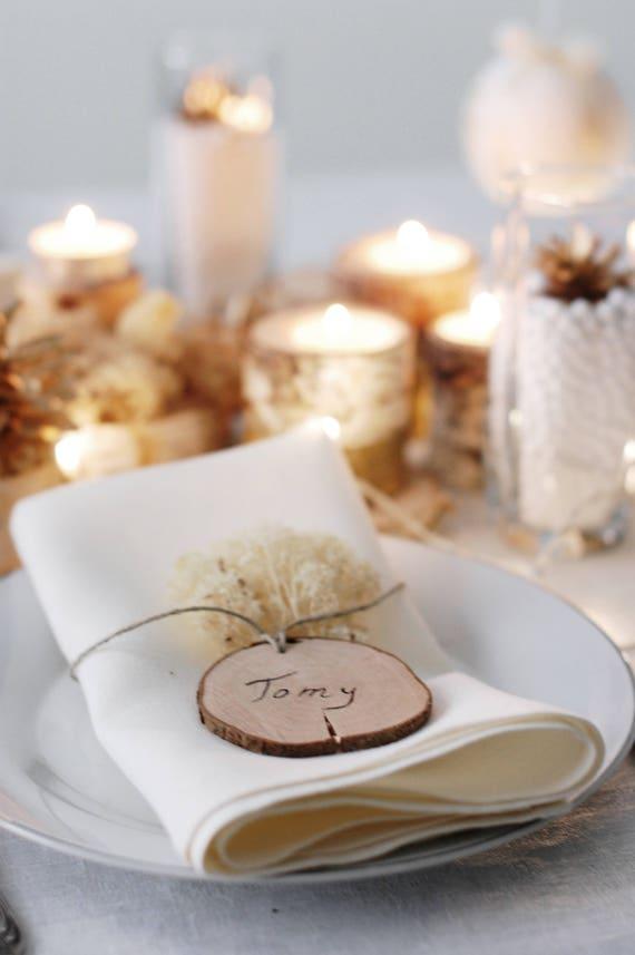 Christmas Gift Tags Name Tags DIY Wooden Ornaments DIY Wood | Etsy