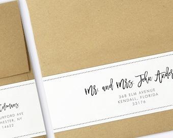 envelope template address template printable custom