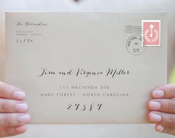envelope template printable envelope addressing wedding. Black Bedroom Furniture Sets. Home Design Ideas