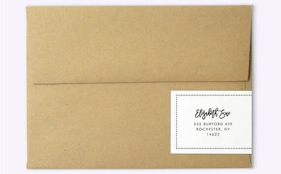 Wrap Around Labels Printable Address Wedding