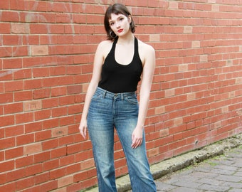 Vintage 1970s/80s WRANGLER Jeans | Made in USA | WRANGLER Denim Jeans | 29 Waist | S/M
