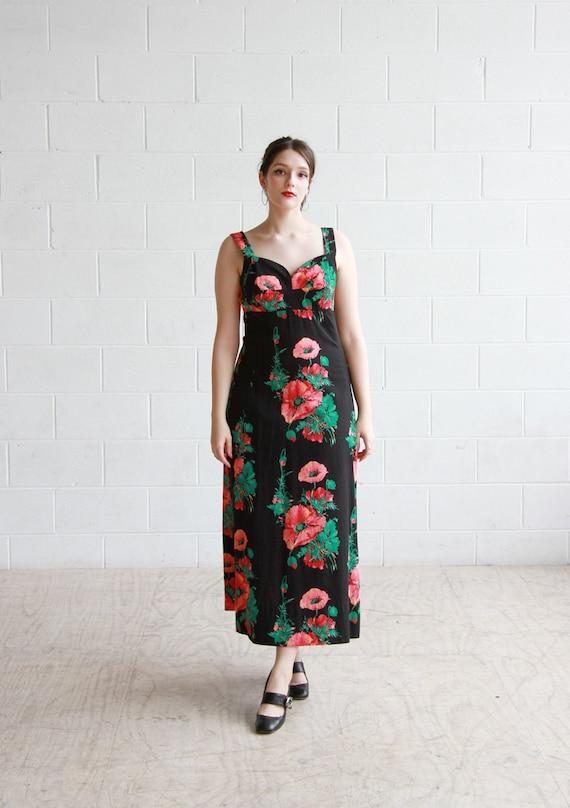 Vintage 1950s Horrockses Sundress / Floral Sweethe