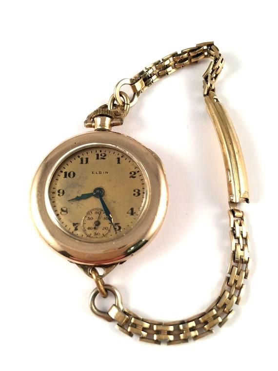 Superb RARE montre vintage femmes appelé Elgin. Très rare garde temps! Il est plus collectionnable que portable. Montre Elgin. Montre lady.