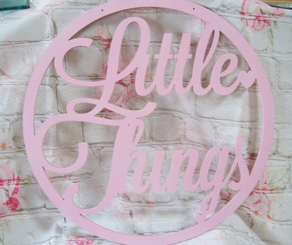 *ANY NAME /& COLOUR* Personalised wooden name hoop Circle Loop Plaque