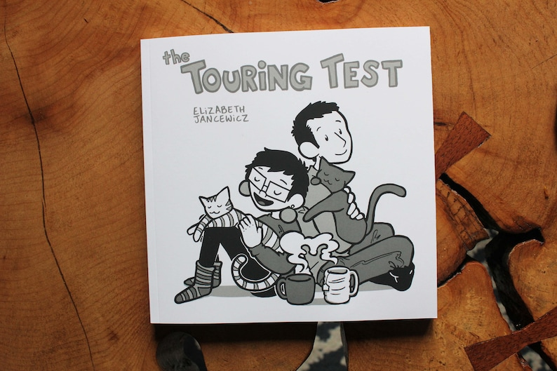 The Touring Test a Compilation Comic Book of the first 2 image 0