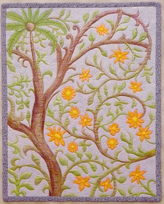Small. Quilt Art quilt Wall hanging