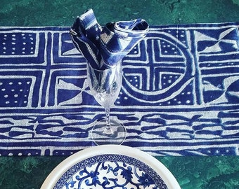 Table Runner and Napkins, Ndop