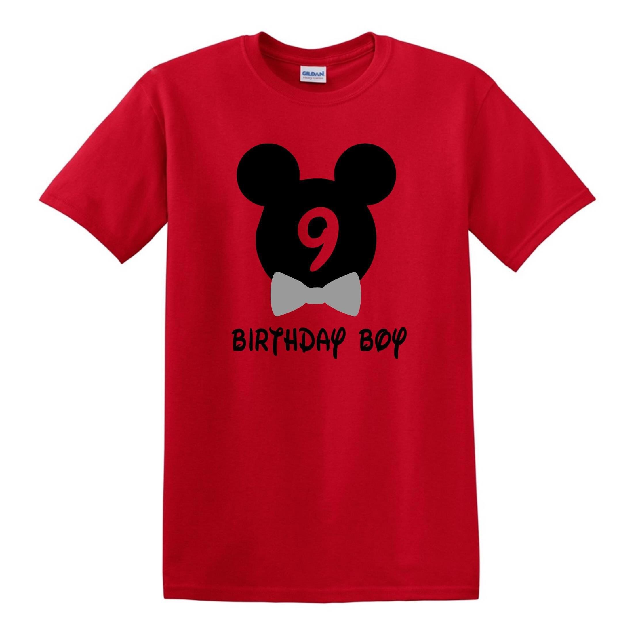 Disney Birthday Shirt Mickey Boy