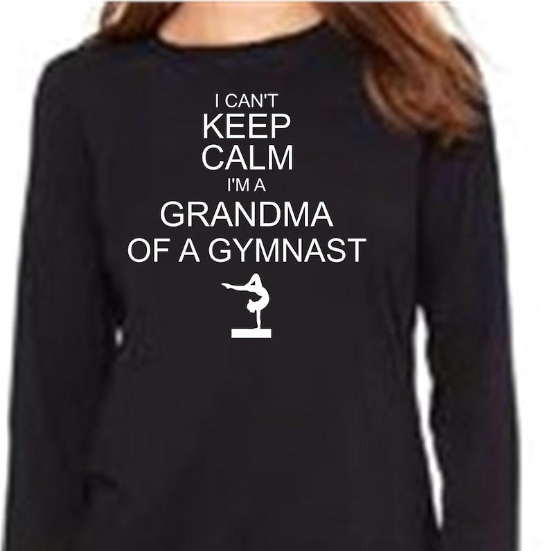 a0cc5c2c Gymnastics Grandma Shirt Gymnastics Grandma Shirts Keep Calm | Etsy