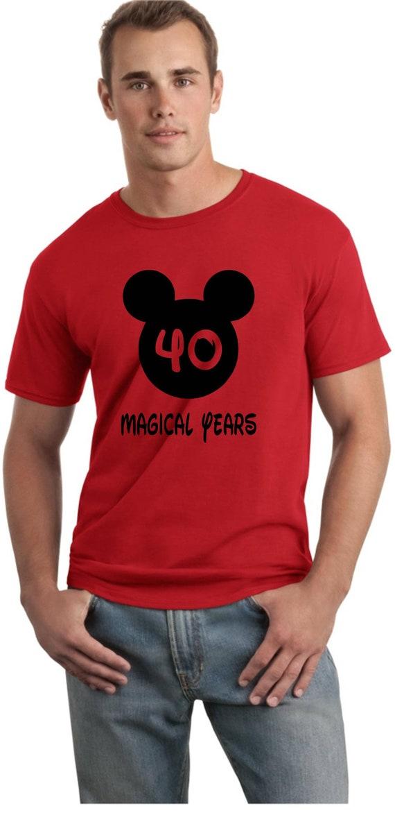 Disney Birthday Shirt Custom Mickey Mens