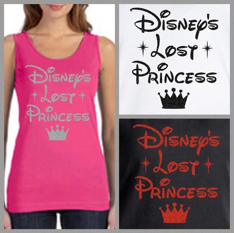 8400456df39e8 Disney s Lost Princess Tank Top Disney Shirts Disney