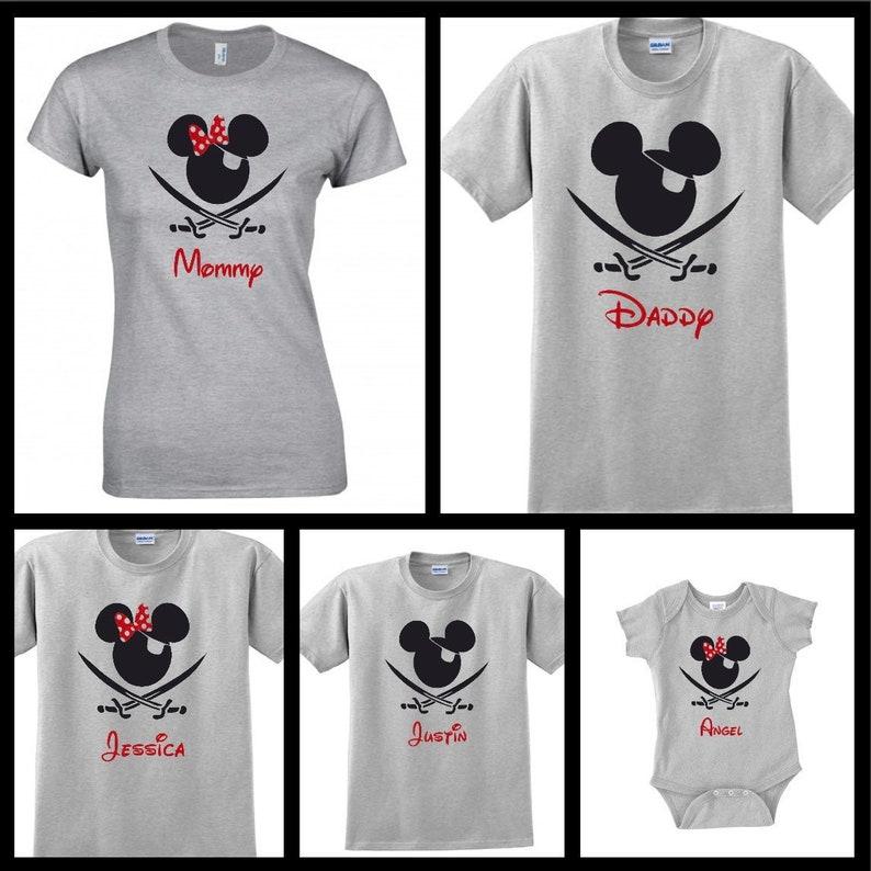 9e8a338ac Disney Pirate Shirt Disney Cruise Shirt Disney Family | Etsy