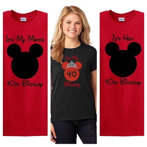 Minnie Mouse Birthday Shirt Family Shirts Its My
