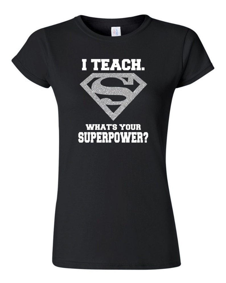 superman t shirt black and silver