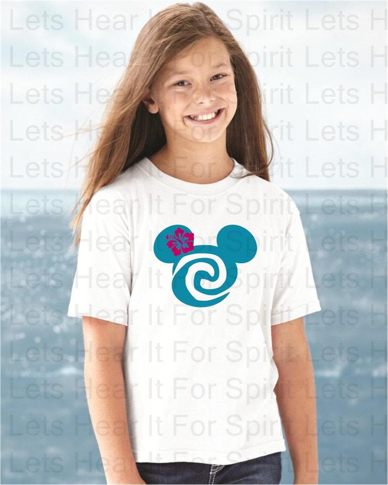 Moana Shirt Moana Mouse Head Shirt Mickey Moana Shirt Disney Shirt Disney Family Shirts Happy Place Moana Minnie Ears Her Her Moana Gift