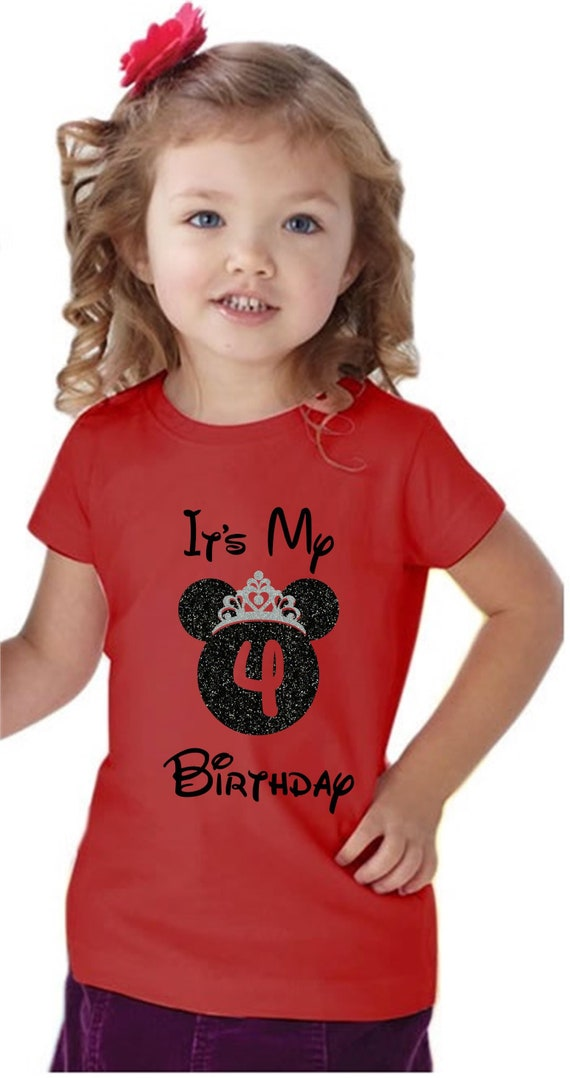 Disney Birthday Girl Shirt Its My