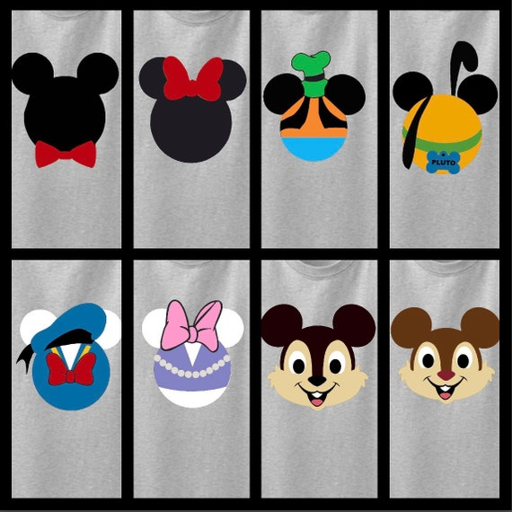 Daisy OR Donald Duck Disney Mouse Ears Personalized Shirt. ONLY ONE