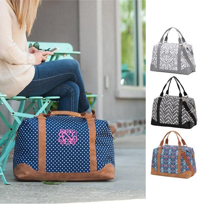 89a002dc96 Monogrammed Weekender Travel Bag Weekend Bag Women