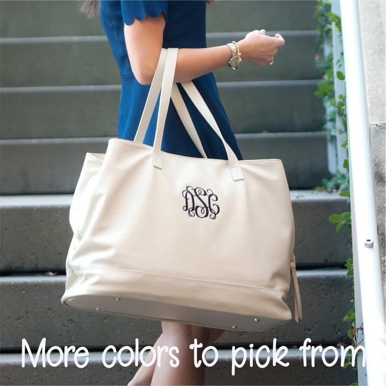 ea8ab6a1e4 Monogrammed Weekender Bag Personalized Weekend Bag Women