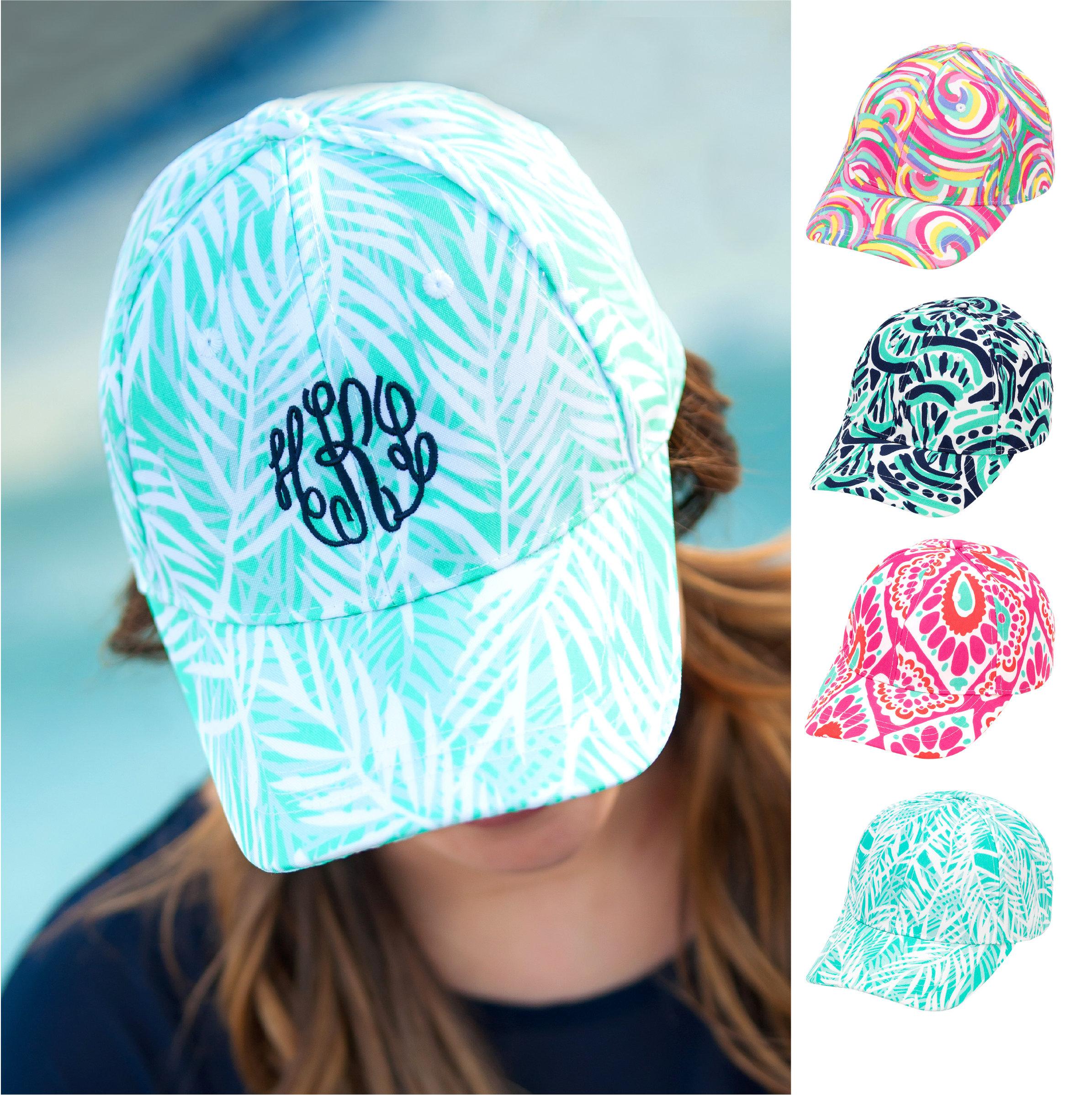 9df340eaff7 Embroidered Baseball Hat Womens Monogrammed Baseball Cap