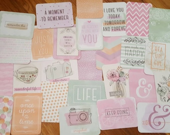 Project life partial kit- Charming Edition