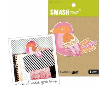 Smash birdie bookmark