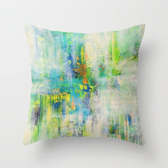 turquoise throw pillow green pillow covers decorative 87861