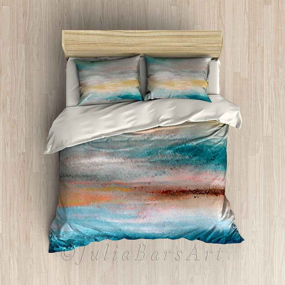 the duvet cover of ocean god bedding product bath